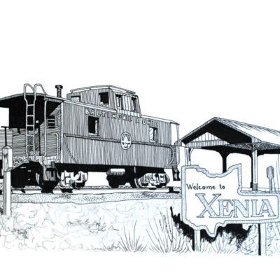 Xenia Train Station 2
