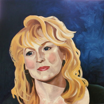 Meryl painting